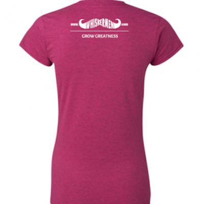 Whiskermen Girls Shirt - Heliconia