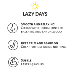 Whiskermen Beard Oil  –  Lazy Days