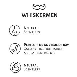 Whiskermen Beard Oil  –  Whiskermen
