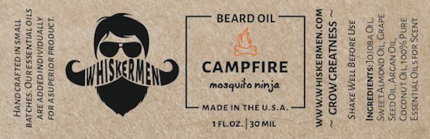 Whiskermen - Beard Oil - Campfire