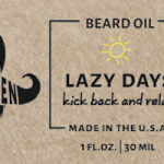 Whiskermen - Beard Oil - Lazy Days