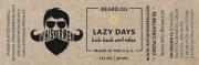 Whiskermen - Beard Oil - Lazy Days