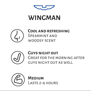 Whiskermen Beard Oil  –  Wingman