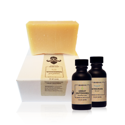 Any 2 Whiskermen Beard Oils & Beard Soap Combo