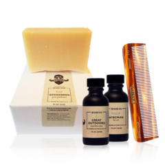 The Whiskermen Beard Soap Kit