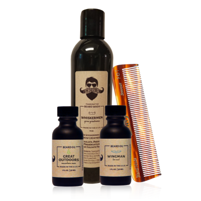 The Whiskermen Beard Wash Kit