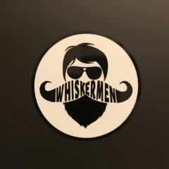 Whiskermen Sticker