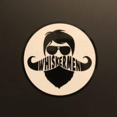 Whiskermen Sticker