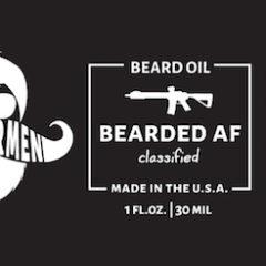 Whiskermen Beard Oil – Bearded AF
