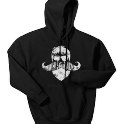 Whiskermen Hoodie – Black