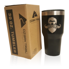 Whiskermen 30oz Tumbler – Black