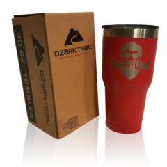Whiskermen 30oz Tumbler – Red